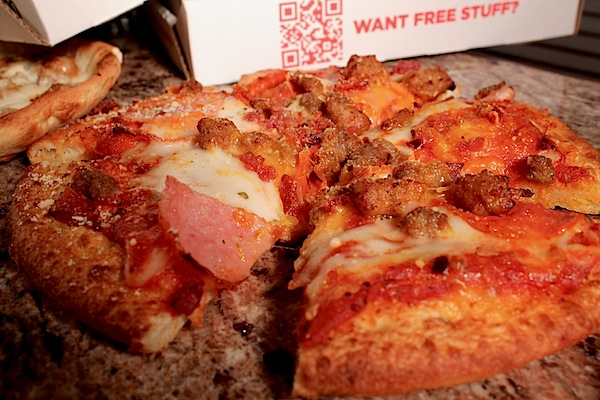 Meat Lovers - Pie Five Pizza Review Dallas - The Glut Life