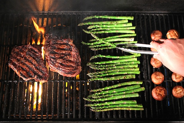 Rib-Eye on the grill - The Glut Life