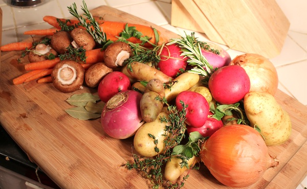 Cornucopia of Root Vegetables and Herbs - The Glut Life