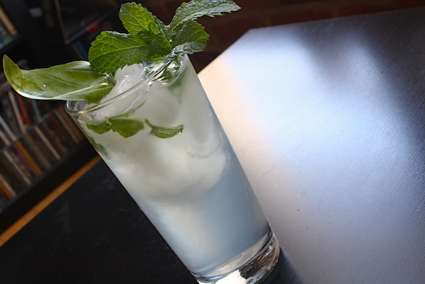 Basil Mint Lemonade