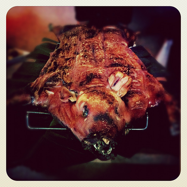 InstaGlut: @thuddles roasted pig for the Glutlife