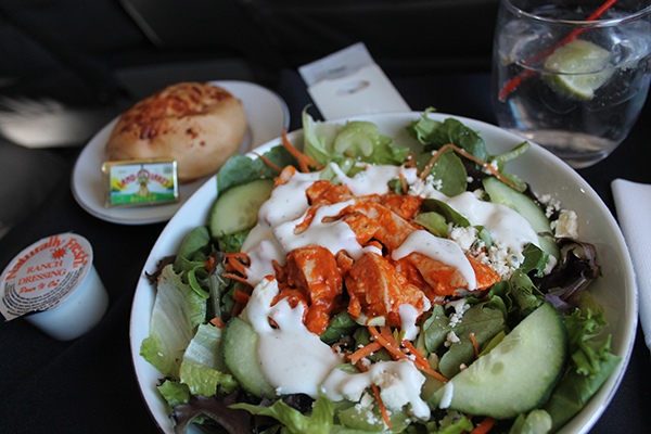 American Airlines Lunch Salad