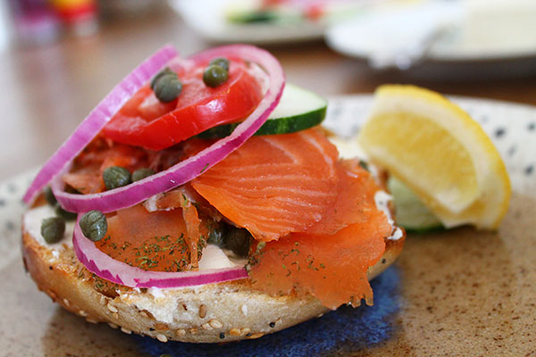 ACME Smoked Fish Co - Bagel and Lox
